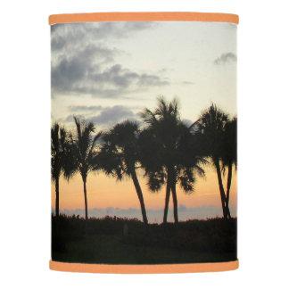 Palm Trees at Sunset Lamp Shade