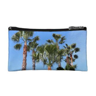 Palm Trees Makeup Bag