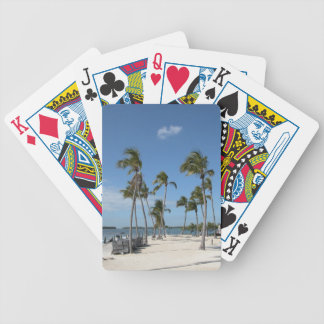 Palm Trees Bicycle Playing Cards