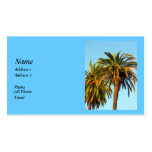 Palm Trees Double-Sided Standard Business Cards (Pack Of 100)