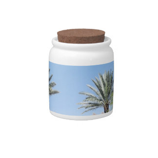 Palm Trees Candy Dishes