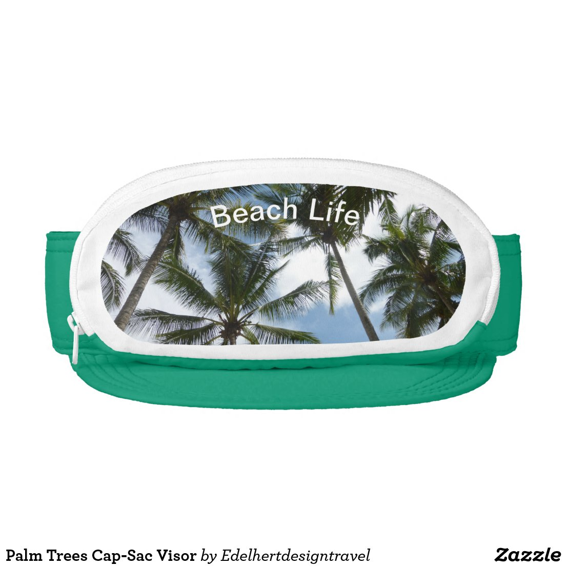 Palm Trees Cap-Sac Visor
