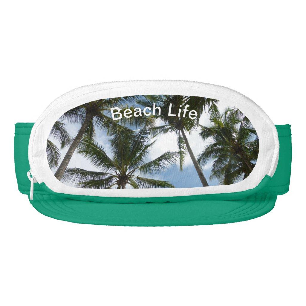 Palm Trees Cap-Sac Visor