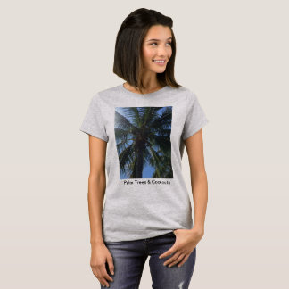 Palm Trees & Coconuts t-shirt