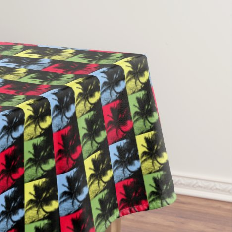 Palm Trees Design Tablecloth