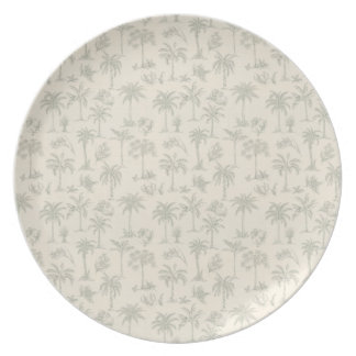 Palm Trees Dinner Plates