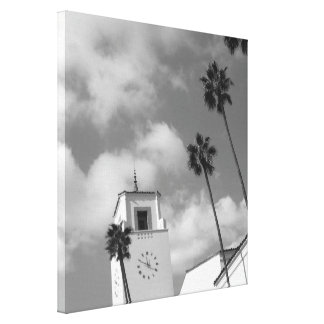 Palm Trees in Los Angeles Gallery Wrapped Canvas