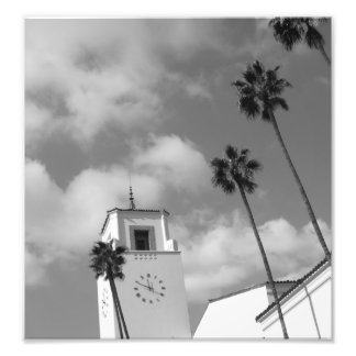 Palm Trees in Los Angeles Photo Print