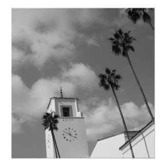 Palm Trees in Los Angeles Print