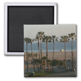 Palm Trees in Santa Monica Magnet Refrigerator Magnets