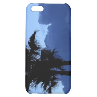 Palm Trees in the Blue Sky Cover For iPhone 5C