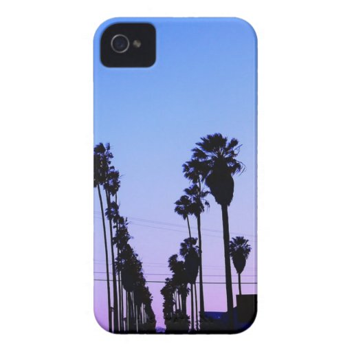 Palm Trees iPhone 4 Case-Mate Cases