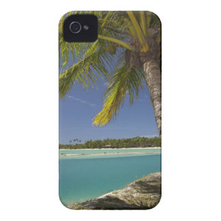 Palm trees & lagoon, Musket Cove Island Resort Case-Mate iPhone 4 Case