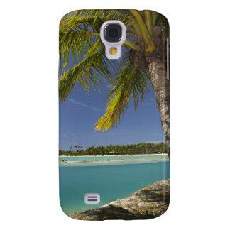 Palm trees & lagoon, Musket Cove Island Resort Galaxy S4 Cover