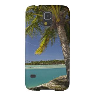 Palm trees & lagoon, Musket Cove Island Resort Galaxy S5 Cover