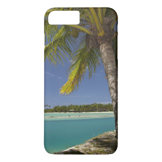 Palm trees & lagoon, Musket Cove Island Resort iPhone 8 Plus/7 Plus Case