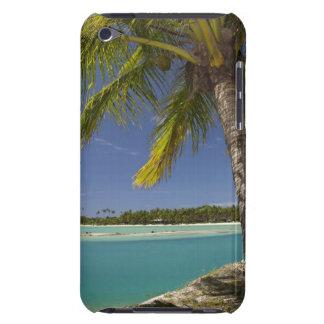 Palm trees & lagoon, Musket Cove Island Resort iPod Case-Mate Case