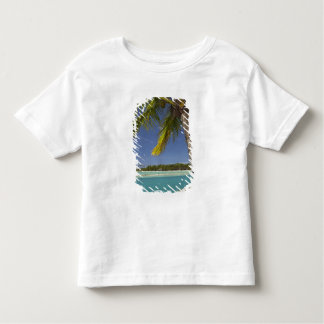 Palm trees & lagoon, Musket Cove Island Resort Toddler T-shirt