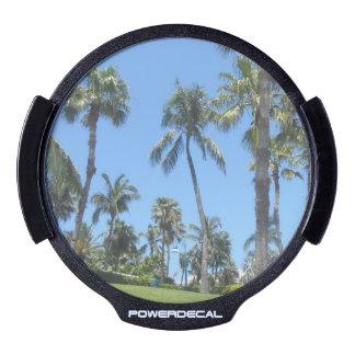 Palm Trees LED Car Window Decal