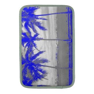 Palm Trees Miami, Florida Blue MacBook Air Sleeves