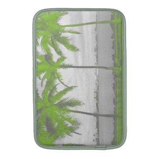 Palm Trees Miami, Florida Green MacBook Air Sleeve