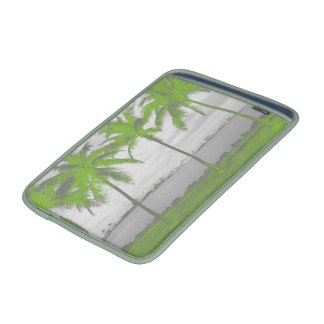Palm Trees Miami, Florida Green MacBook Sleeves