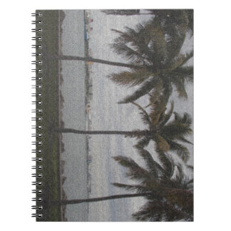 Palm Trees, Miami, Florida Notebook