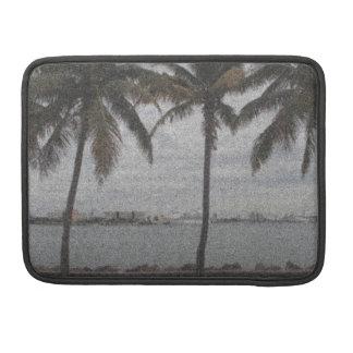 Palm Trees Miami, Florida Sleeve For MacBooks