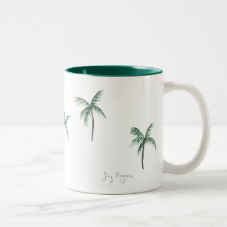 Palm Trees Mugs & Drinkware