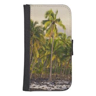 Palm trees, National Historic Park Pu'uhonua o 2 Phone Wallet