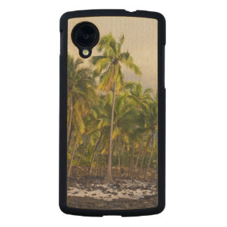 Palm trees, National Historic Park Pu'uhonua o 2 Carved® Maple Nexus 5 Slim Case