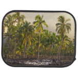 Palm trees, National Historic Park Pu'uhonua o 2 Floor Mat