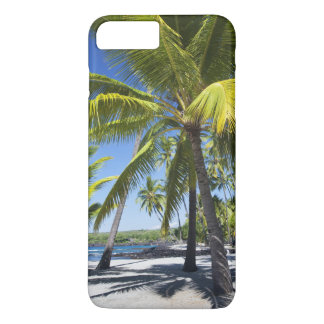 Palm trees, National Historic Park Pu'uhonua o iPhone 7 Plus Case