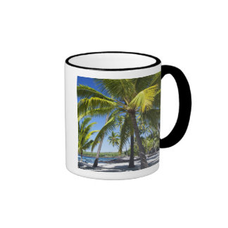 Palm trees, National Historic Park Pu'uhonua o Ringer Coffee Mug