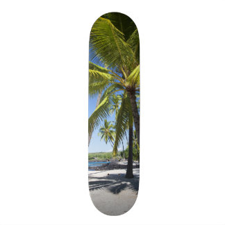 Palm trees, National Historic Park Pu'uhonua o Skate Decks