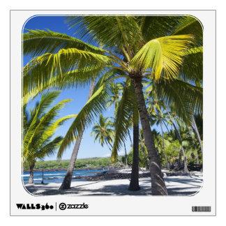 Palm trees, National Historic Park Pu'uhonua o Wall Sticker