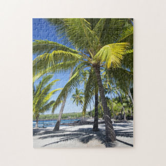Palm trees, National Historic Park Pu'uhonua Jigsaw Puzzles