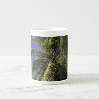 Palm trees on a Caribbean tropical island Tea Cup