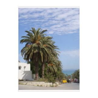 Palm Trees on a Sunny day Photo Acrylic Wall Art