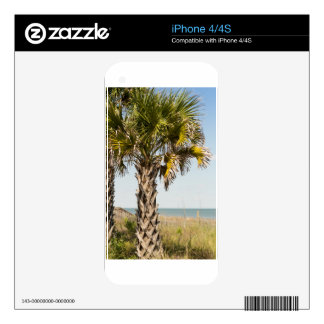 Palm Trees on Myrtle Beach East Coast Boardwalk Decal For The iPhone 4S