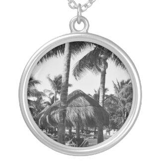 palm trees on the beach pendants