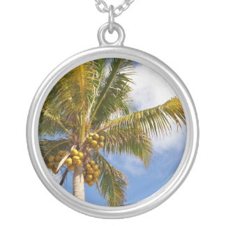 palm trees on the beach jewelry