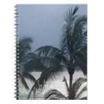 Palm Trees On The Beach Notebook