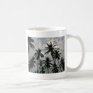 Palm Trees over Mexico Coffee Mug