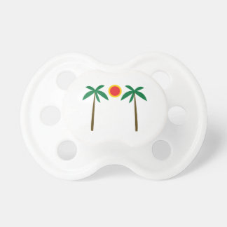 Palm Trees Baby Pacifier