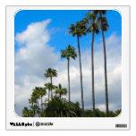 palm trees photograph wall skin