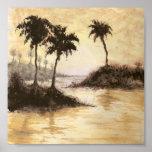 palm trees print