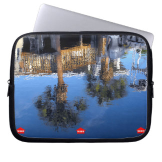 Palm Trees Reflection Computer Sleeve