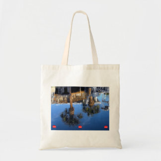 Palm Trees Reflection Tote Bag