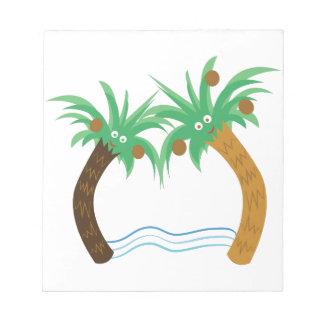 Palm Trees Scratch Pads